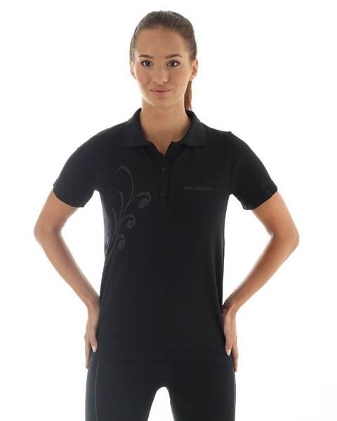 Brubeck Dámske termo tričko Brubeck PRESTIGE s limcom S