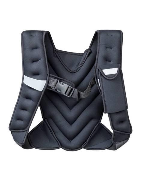 Insportline Záťažová vesta inSPORTline Klaper 5 kg čierna
