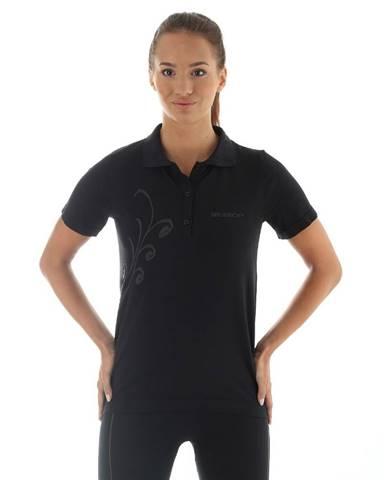 Dámske termo tričko Brubeck PRESTIGE s limcom S