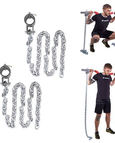 Vzpieračské reťaze inSPORTline Chainbos 2x5 kg
