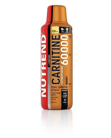 Karnitin Nutrend Carnitine 60000 + Synephrine - 500 ml