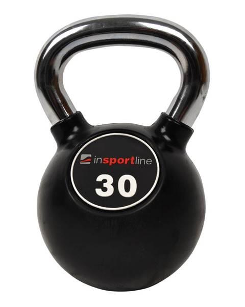 Insportline Pogumovaná činka inSPORTline Ketlebel Profi 30 kg