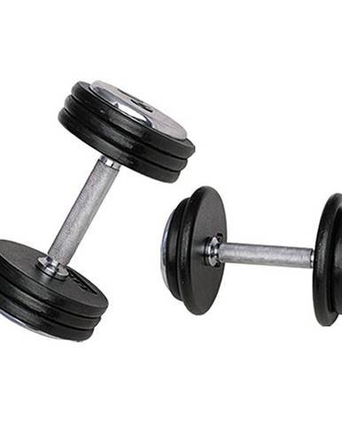Jednoručná činka inSPORTline ProfiST 12,5 kg