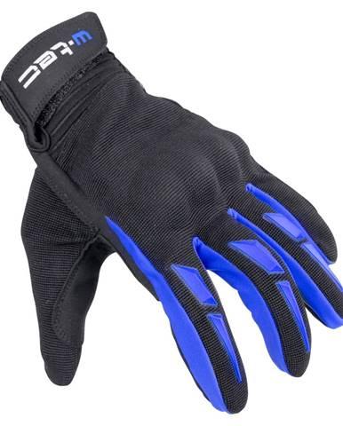 Moto rukavice W-TEC Hirshla GS-9044 modro-čierna - XS