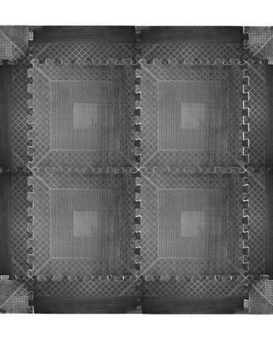Puzzle záťažová podložka inSPORTline Rubber 0,6 cm