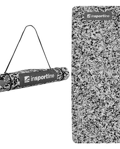 Podložka na cvičenie inSPORTline Camu 173x61x0,4 cm šedý maskáč