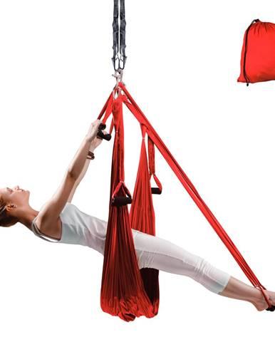 Popruhy na aero jogu inSPORTline Hemmok červená