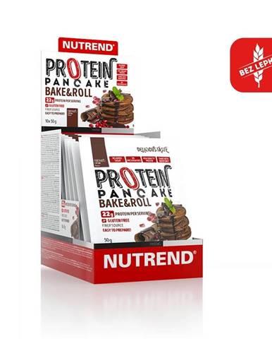 Proteínové palacinky Nutrend Protein Pancake 10x50g čokoláda-kakao