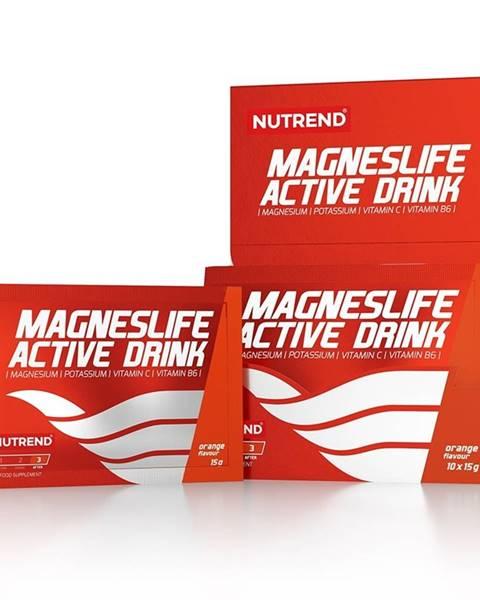 Nutrend Instantný nápoj Nutrend Magneslife Active Drink 10x15g pomaranč
