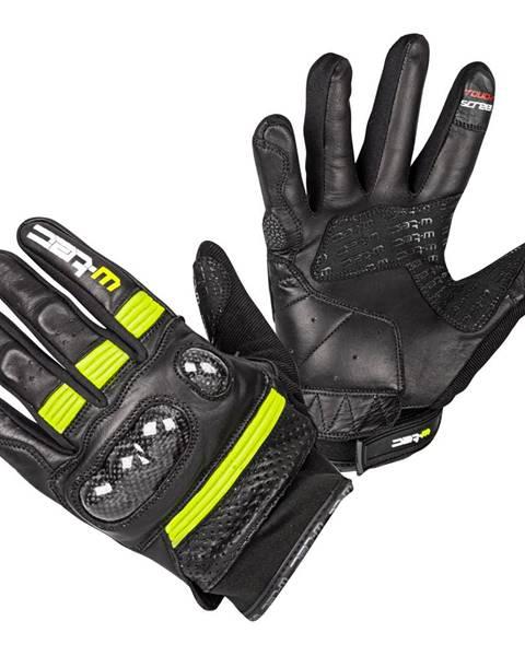W-Tec Moto rukavice W-TEC Rushin Black-Fluo Yellow - S