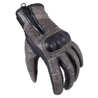 Pánske moto rukavice W-TEC Davili čierno-hnedá - S