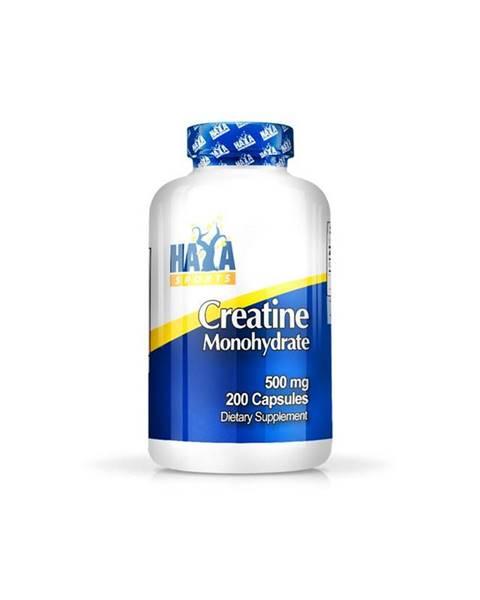 Haya Labs Haya Labs Sports Creatine Monohydrate 500mg Hmotnost: 200 kapslí