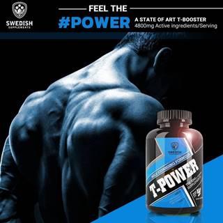 T-Power - Swedish Supplements 200 kaps.