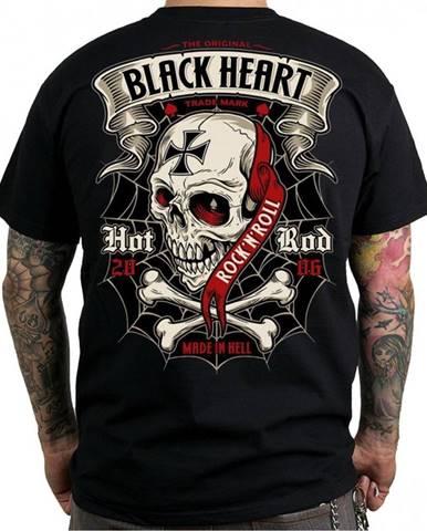 Tričko BLACK HEART Crusty Demons čierna - M