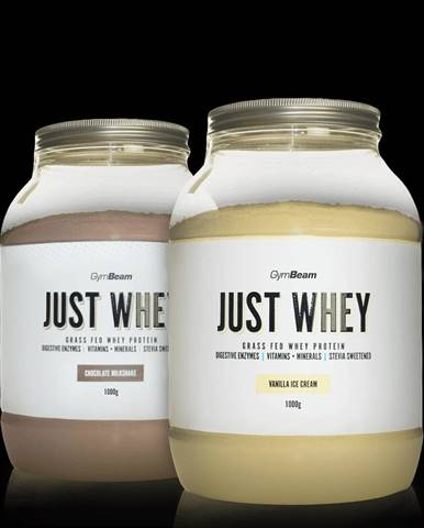 GymBeam Just Whey 1000 g bez príchute