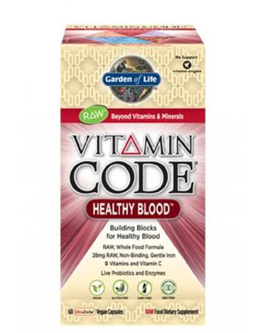 Garden of Life Vitamín Healthy Blood RAW 60 kapslí