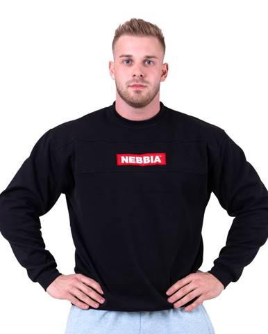 Pánska mikina Nebbia Red Label 148 Black - XL