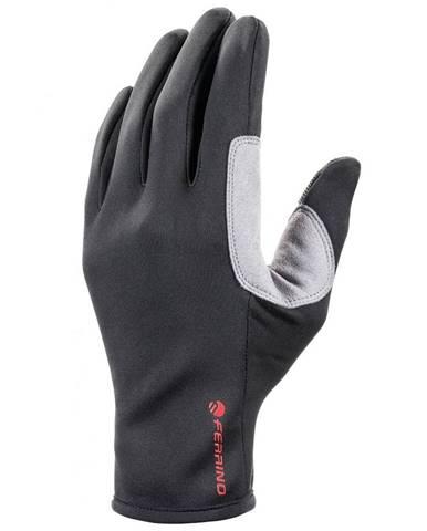 Softshellové rukavice FERRINO Highlab Meta Black - XS