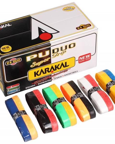 Karakal PU Super grip Duo twin základní omotávka barva: mix barev;balení: 1 ks