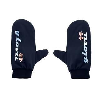 Nepremokavé návleky na rukavice Glovii GNB čierna - S-M