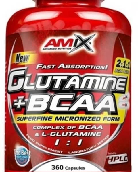 Amix Nutrition Amix L-Glutamine + BCAA 360 kapsúl