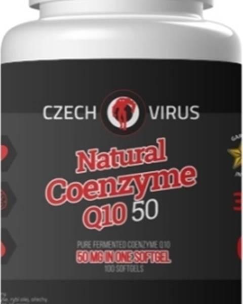 Czech Virus Czech Virus Natural Coenzyme Q10 50 100 kapsúl