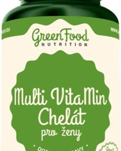 GreenFood GreenFood Multi Vitamíny Chelát pre ženy 60 kapsúl