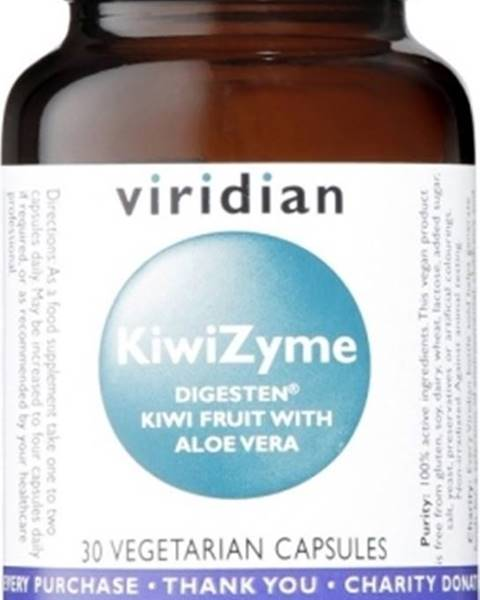 Viridian Viridian Kiwizyme 30 kapsúl
