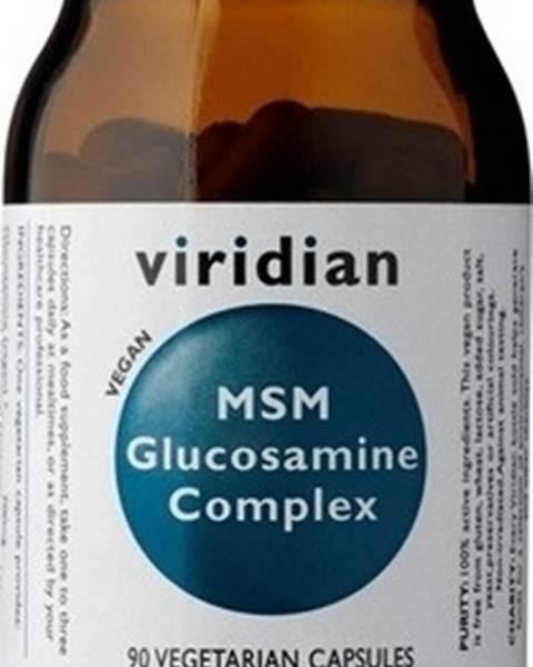 Viridian Viridian MSM Glucosamine Complex 90 kapsúl