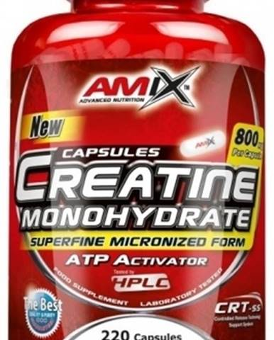 Amix Creatine Monohydrate 220 kapsúl