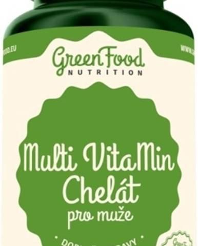 GreenFood Multi Vitamin Chelát pre mužov 90 kapsúl