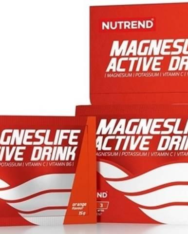 Nutrend Magneslife Active Drink 15 g variant: citrón