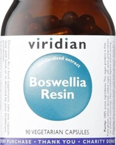 Viridian Boswellia Resin 90 kapsúl