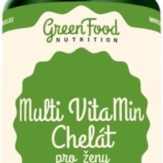 GreenFood Multi Vitamíny Chelát pre ženy 60 kapsúl