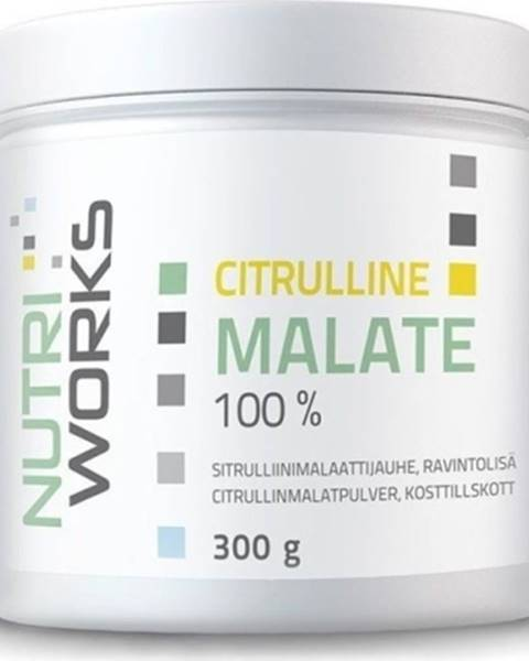 NutriWorks Nutriworks Citruline Malate 300 g