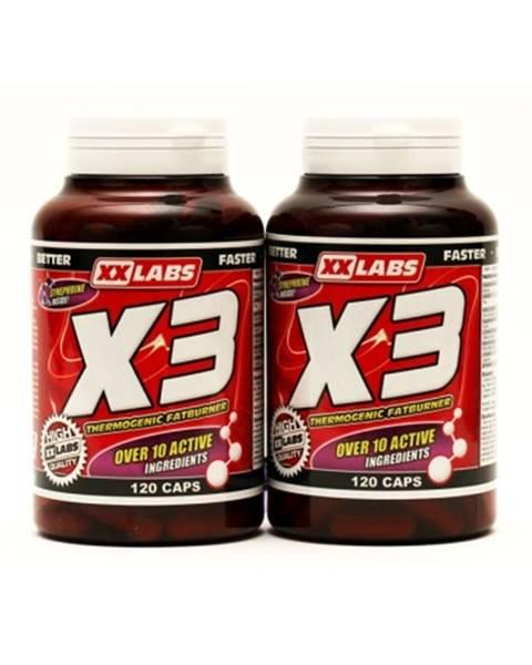 Xxlabs XXLabs X3 Thermogenic Fatburner 120 kapsúl 1 + 1 ZADARMO