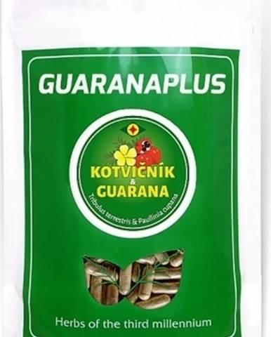 Guaranaplus Kotvičník Zemný + Guarana XL balenie 400 kapsúl