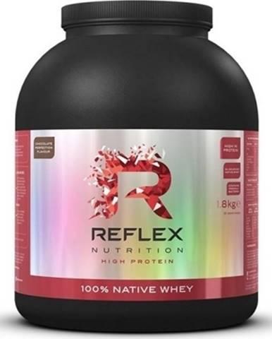 Reflex Nutrition Reflex 100% Native Whey 1800 g variant: čokoláda