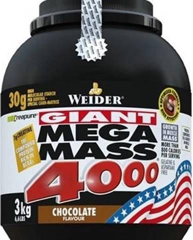 Weider Giant Mega Mass 4000 3000 g variant: čokoláda