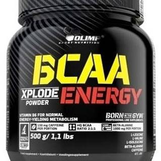 Olimp BCAA Xplode Energy 500 g variant: cola