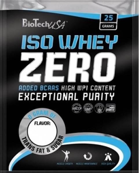 Biotech USA BioTech USA BioTech ISO Whey Zero 25 g variant: banán