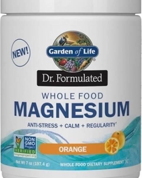 Garden of life Garden of Life Magnesium Dr. Formulated - Horčík 197,4 g variant: pomaranč