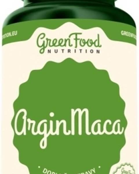 GreenFood GreenFood ArginMaca vegan 60 kapsúl