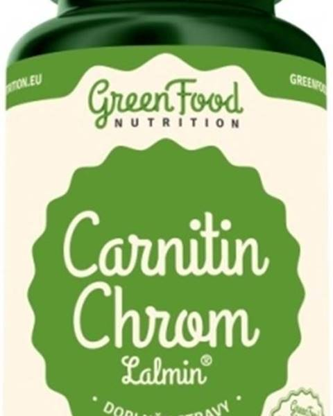 GreenFood GreenFood Carnitin Chróm Lalmin 60 kapsúl