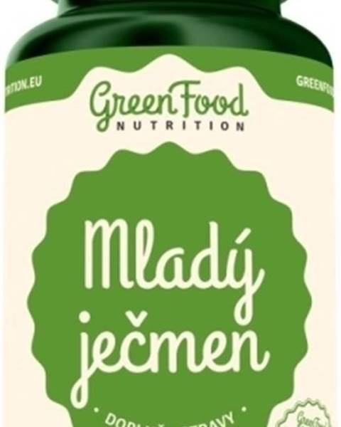 GreenFood GreenFood Mladý jačmeň vegan 120 kapsúl