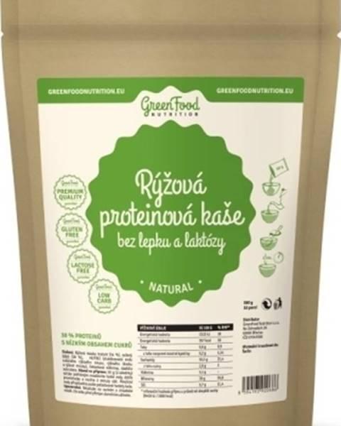 GreenFood GreenFood Ryžová proteínová kaša bez lepku a laktózy 500 g variant: kakao