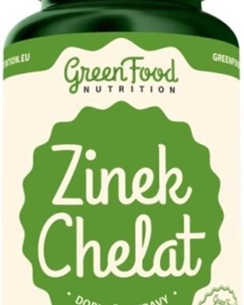 GreenFood GreenFood Zinok Chelát vegan 60 kapsúl