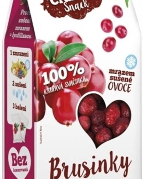 Royal Pharma Royal Pharma Crunchy Snack mrazom sušené Brusnice 15 g