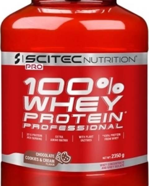 Scitec Nutrition Scitec Nutrition Scitec 100% Whey Protein Professional 2350 g variant: banán