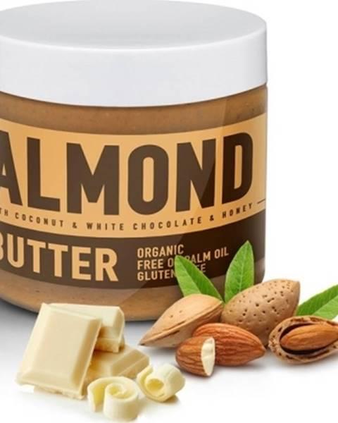 Sizeandsymmetry Sizeandsymmetry Mandľové Maslo s Bielou Čokoládou, Kokosom a Medom 500 g